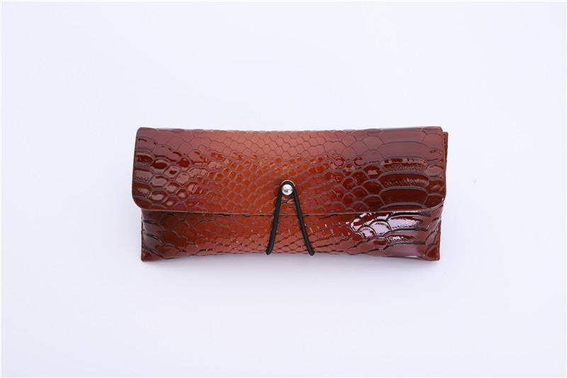 Crocodile leather Sunglasses Case