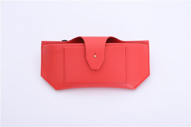 Slim PU leather Sunglasses case