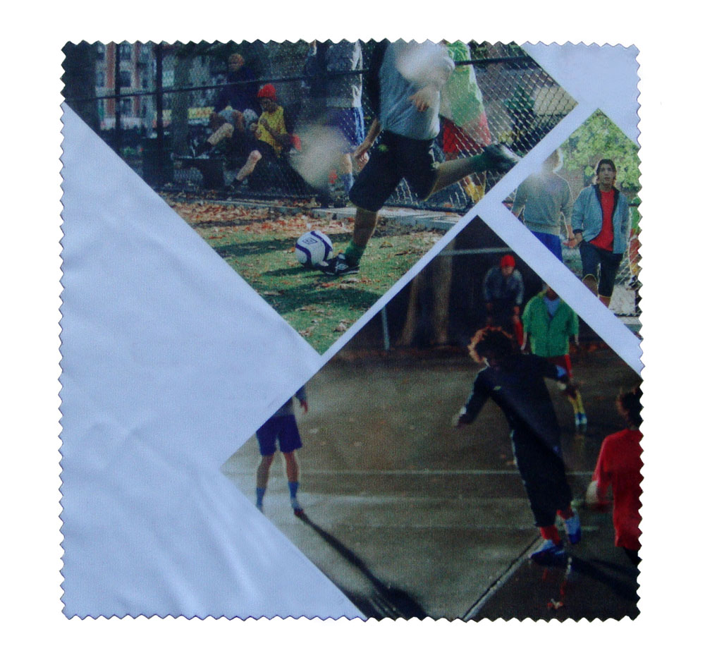 Sublimated Umbro Microfiber Cleaning Cloth