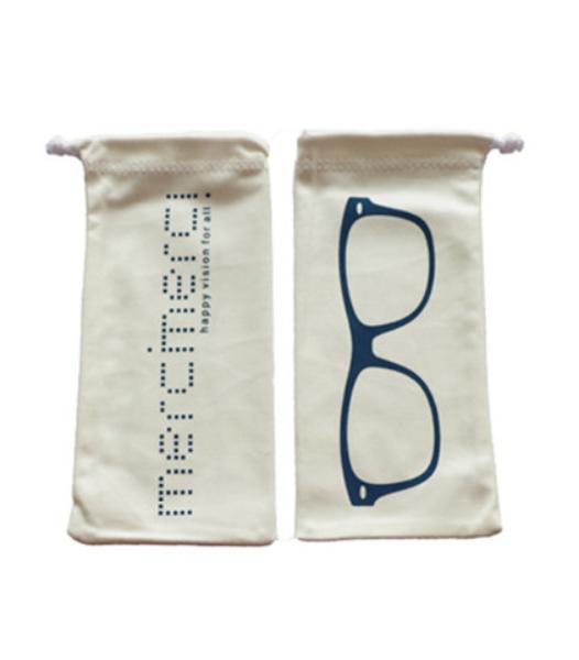 White Simple Sunglasses Bag