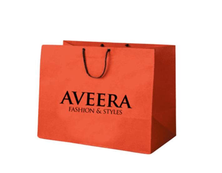 Printed Bag for optical Shop
