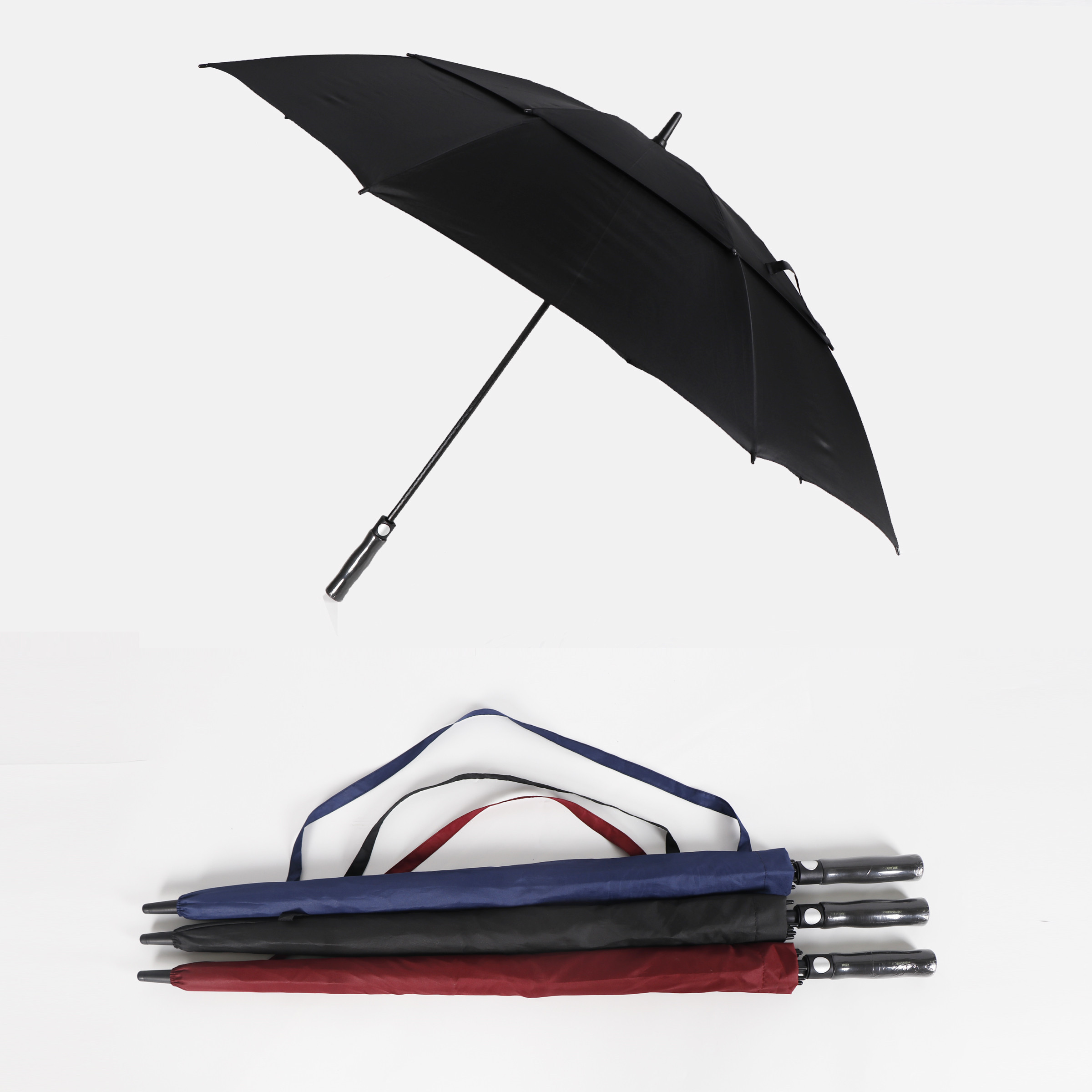 large double layer golf umbrella