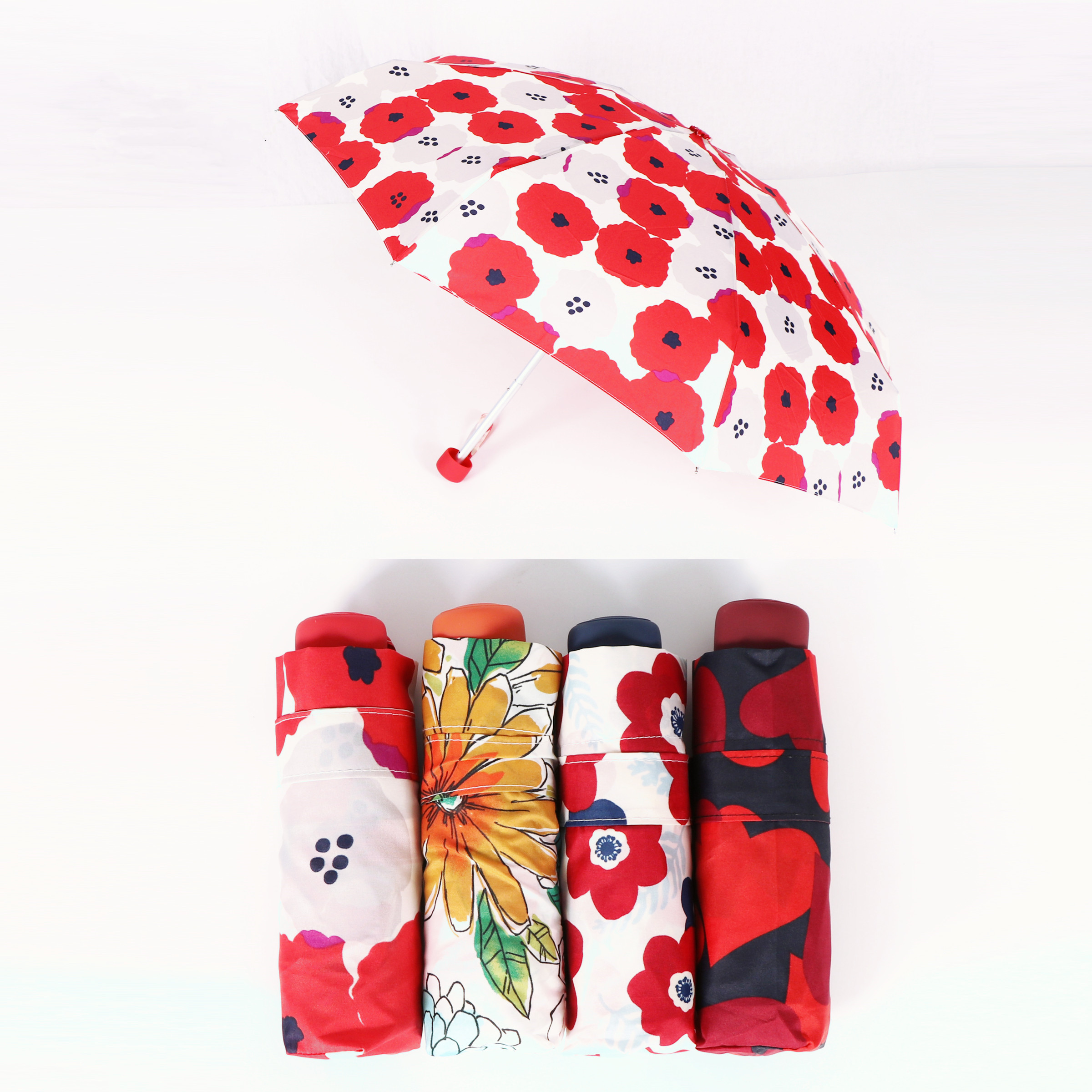 sublimated printing folding umbrella