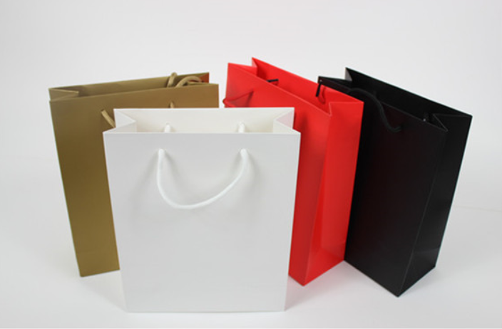 Luxury colored paper bag